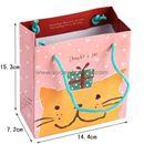 Túi giấy đựng quà mèo vàng - nhỏ - M9