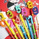 Bút chì gỗ chữ số B0060 10g