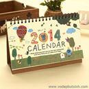 Lịch kế hoạch để bàn 2014 Calendar K0937 220g
