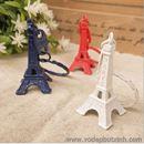 Móc Khóa Tháp Eiffel  trang trí màu sắc 5cm K0720 150g
