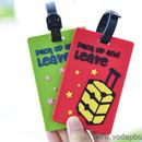 Thẻ hành lý Name Tag Pack Up And Leave K0807 40g