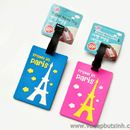 Thẻ hành lý Name Tag Travel In Paris K0806 40g