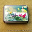 Hộp sắt Mini card hạc giấy K0301 140g