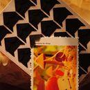 Sticker góc loại to màu đen K0924 5g