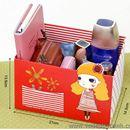 Hộp đựng đồ, ống cắm bút Beautiful day màu đỏ K0620 90g