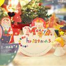 Bộ thiệp phong bì Sticker Christmas Card k0944 60g