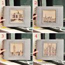 Album ảnh thành phố cổ bìa vải Lenwa  K0754  860g