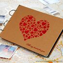 Album ảnh DIY trái tim All My Heart For You K1015 550g