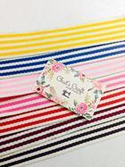 Quai túi cotton 3.8 sọc các màu