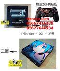 Skin PS4 Slim Mẫu 30