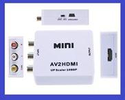 Bộ chuyển đổi AV sang HDMI Full HD 1080p AV2HDMI - Hộp AV to HDMI