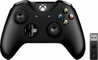 Tay Xbox One S Black + Wireless Adapter 2019 chính hãng mới 100%