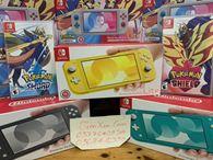 set nintendo switch lite kèm pokemon