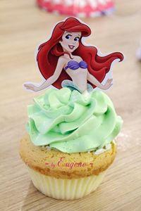 Cupcake nàng tiên cá