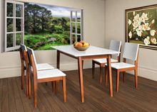 Bộ bàn ghế hình chữ nhật HGB63B, HGG63
