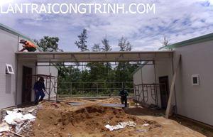 mái nhà lắp ghép