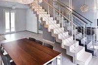 Cầu thang inox mẫu 06