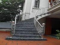 Cầu thang inox mẫu 05
