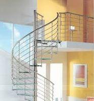 Cầu thang inox mẫu 03