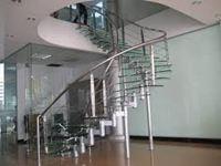 Cầu thang inox mẫu 01