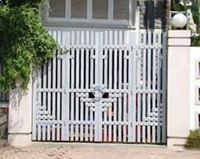 Mẫu cổng inox 09