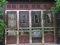 Mẫu cổng inox 08