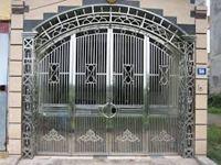 Mẫu cổng inox 04