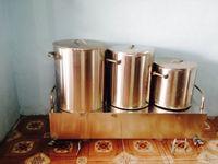 Bộ 3 nồi 20 - 40 - 50 lít đặt bàn Thái Nguyên