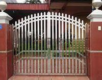 Mẫu cổng inox 02