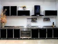 Tủ bếp inox cánh đẹp mẫu 15