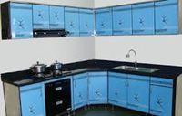 Tủ bếp inox cánh đẹp mẫu 14