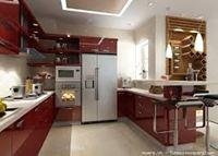 Tủ bếp inox cánh đẹp mẫu 13