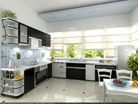 Tủ bếp inox cánh đẹp mẫu 01