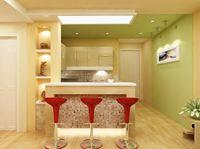 Tủ bếp gỗ sồi Nga mẫu  05