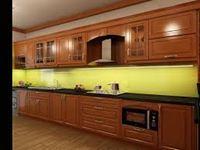 Tủ bếp gỗ xoan đào mẫu 01