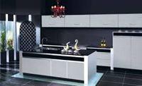 Tủ bếp gỗ cốt chịu nước mẫu 12