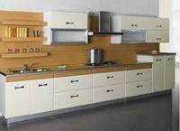 Tủ bếp gỗ cốt chịu nước mẫu 08