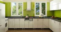 Tủ bếp gỗ cốt chịu nước mẫu 03