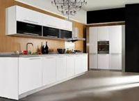 Tủ bếp gỗ cốt chịu nước mẫu 01