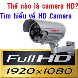 Camera quan sát HD là gì? Tìm hiểu về độ phân giải của Camera quan sát.