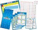 Bộ Mathsphun học toán nhân, 141 mảnh ghép in số, 1 bảng xếp, kèm 4 thẻ trò chơi hướng dẫn