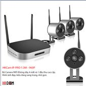 Bộ Camera Không Dây NVR KIT HKCAM IP-PRO HD 720P - Nhỏ Nhắn, Sang Trọng, Đa Năng