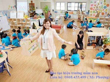 Đào tạo hiệu trưởng trường mầm non