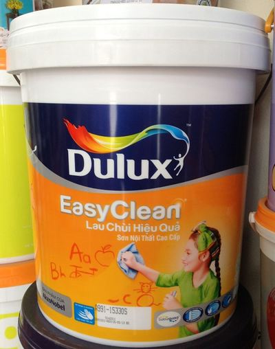 DULUX Easy Clean Lau chùi hiệu quả (18L)