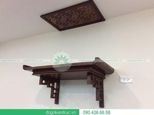 Tổng hợp các mẫu bàn thờ treo tường đẹp hiện đại cho chung cư cao cấp