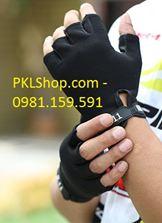 Găng tay 511 nửa ngón màu  đen