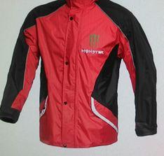 Bộ áo mưa monter màu đỏ