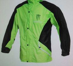 Bộ áo mưa monter màu xanh