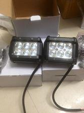 Đèn led 6 black ( giá bán 1 cặp)