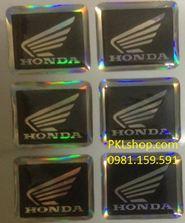 Tem dán Honda hãng( giá bán 1 tem)